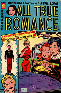 Cover Thumbnail for All True Romance (Comic Media, 1951 series) #19