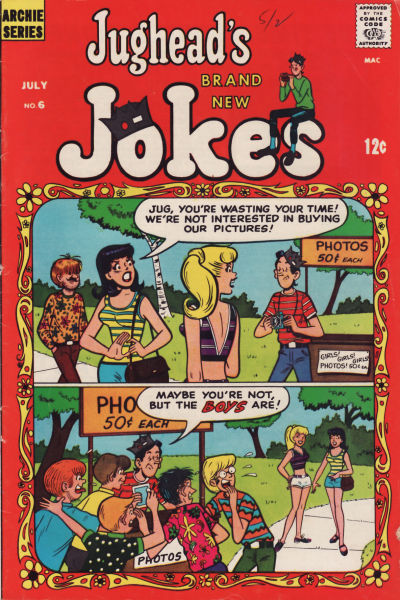 Cover for Jughead's Jokes (Archie, 1967 series) #6