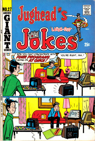 Cover for Jughead's Jokes (Archie, 1967 series) #27