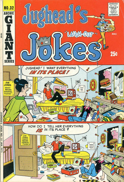 Cover for Jughead's Jokes (Archie, 1967 series) #32