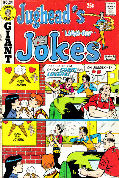 Cover for Jughead's Jokes (Archie, 1967 series) #34