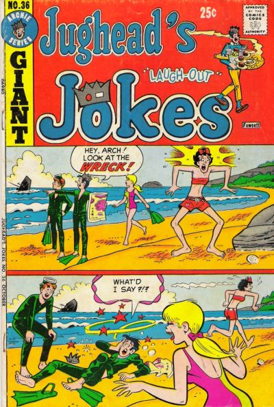 Cover for Jughead's Jokes (Archie, 1967 series) #36