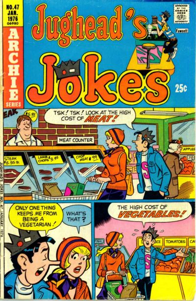 Cover for Jughead's Jokes (Archie, 1967 series) #47