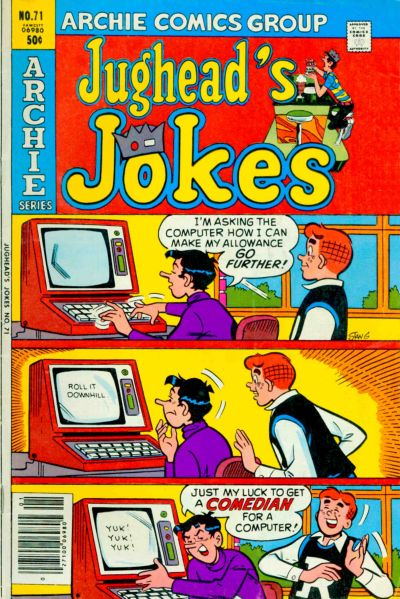 Cover for Jughead's Jokes (Archie, 1967 series) #71