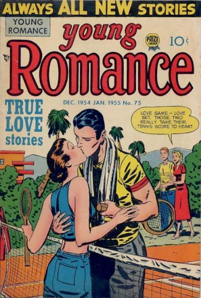 Cover for Young Romance (Prize, 1947 series) #v8#3 (75)
