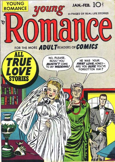Cover for Young Romance (Prize, 1947 series) #v1#3 [3]