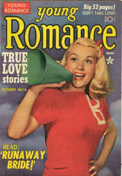 Cover for Young Romance (Prize, 1947 series) #v3#2 (14)