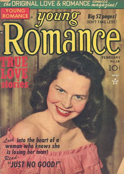 Cover for Young Romance (Prize, 1947 series) #v3#6 (18)