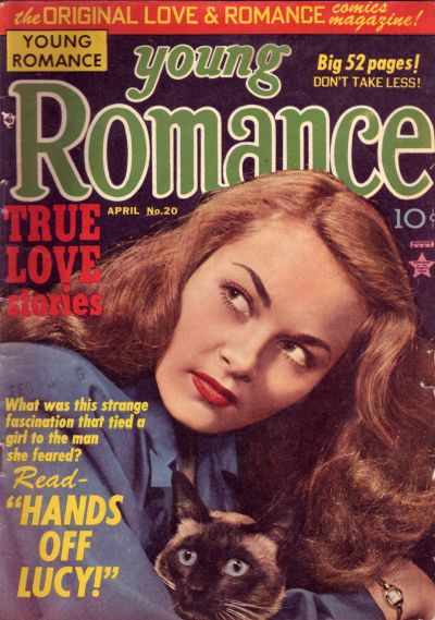 Cover for Young Romance (Prize, 1947 series) #v3#8 (20)