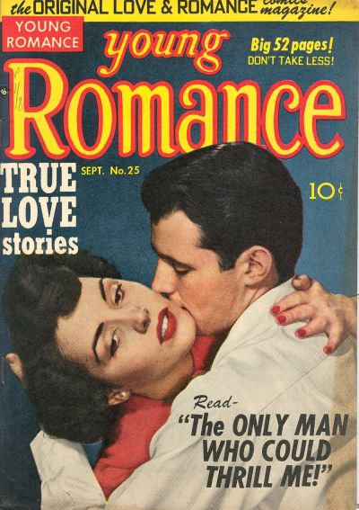 Cover for Young Romance (Prize, 1947 series) #v4#1 (25)