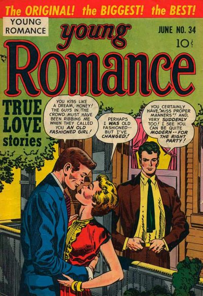 Cover for Young Romance (Prize, 1947 series) #v4#10 (34)