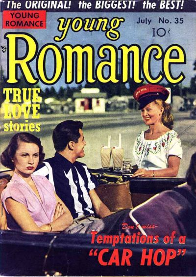 Cover for Young Romance (Prize, 1947 series) #v4#11 (35)