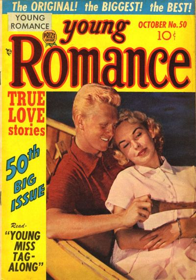 Cover for Young Romance (Prize, 1947 series) #v6#2 (50)