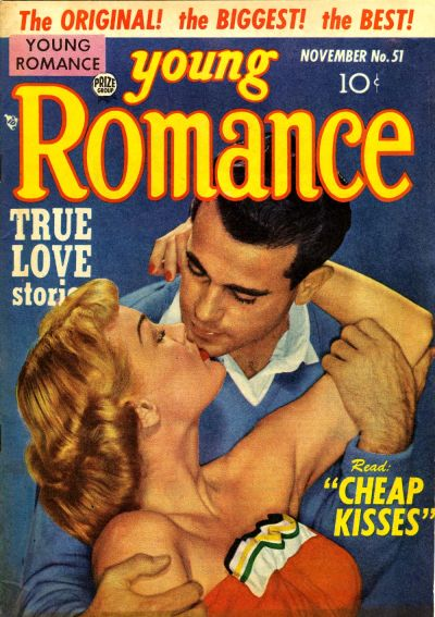 Cover for Young Romance (Prize, 1947 series) #v6#3 (51)