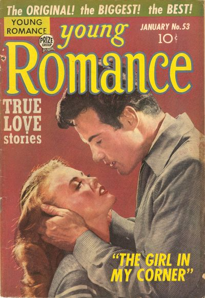 Cover for Young Romance (Prize, 1947 series) #v6#5 (53)