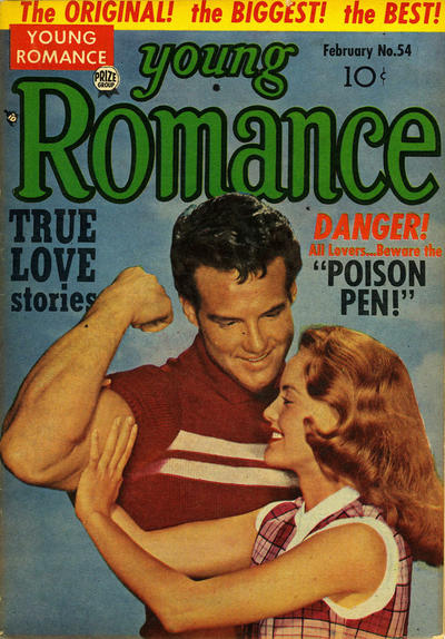 Cover for Young Romance (Prize, 1947 series) #v6#6 (54)