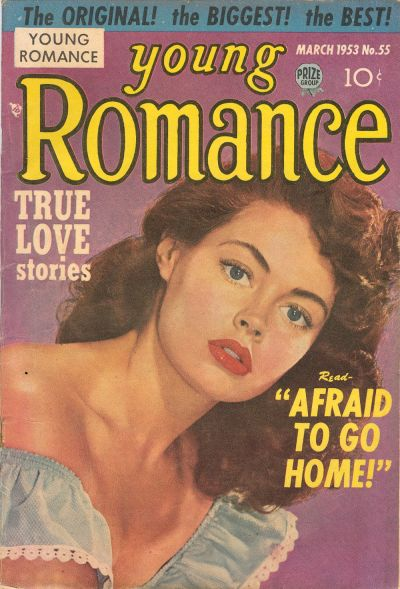 Cover for Young Romance (Prize, 1947 series) #v6#7 (55)