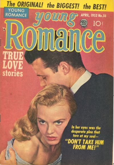 Cover for Young Romance (Prize, 1947 series) #v6#8 (56)