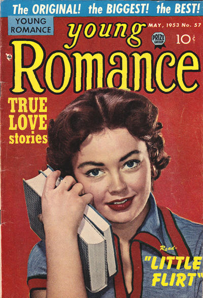 Cover for Young Romance (Prize, 1947 series) #v6#9 (57)