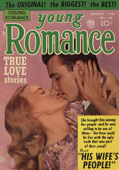 Cover for Young Romance (Prize, 1947 series) #v6#12 (60)