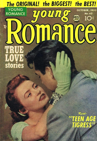 Cover for Young Romance (Prize, 1947 series) #v7#2 (62)