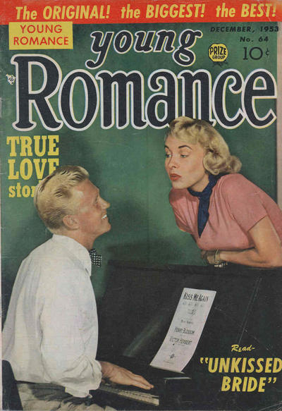 Cover for Young Romance (Prize, 1947 series) #v7#4 (64)