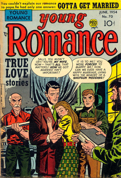 Cover for Young Romance (Prize, 1947 series) #v7#10 (70)