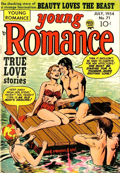 Cover for Young Romance (Prize, 1947 series) #v7#11 (71)
