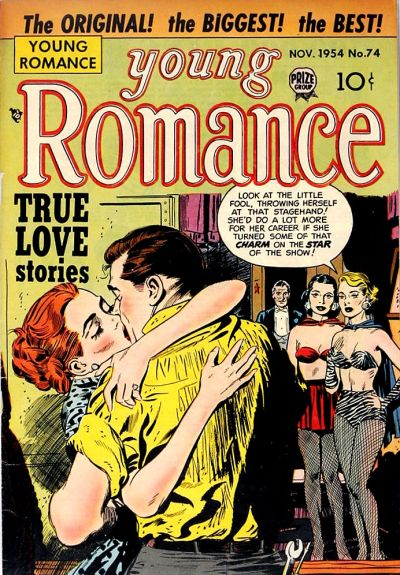 Cover for Young Romance (Prize, 1947 series) #v8#2 (74)