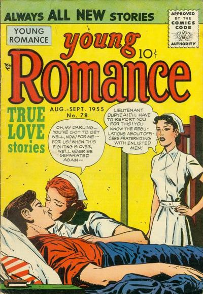 Cover for Young Romance (Prize, 1947 series) #v8#6 (78)