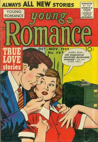 Cover for Young Romance (Prize, 1947 series) #v9#1 (79)