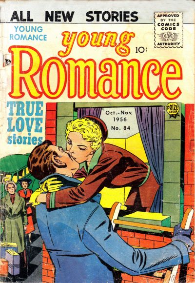 Cover for Young Romance (Prize, 1947 series) #v9#6 (84)