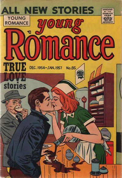 Cover for Young Romance (Prize, 1947 series) #v10#1 (85)