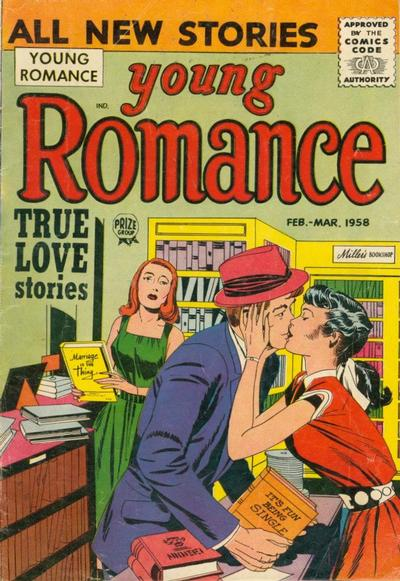 Cover for Young Romance (Prize, 1947 series) #v11#2 [92]