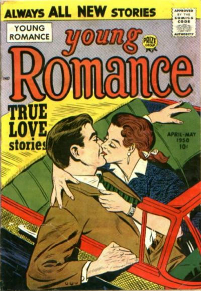 Cover for Young Romance (Prize, 1947 series) #v11#3 [93]