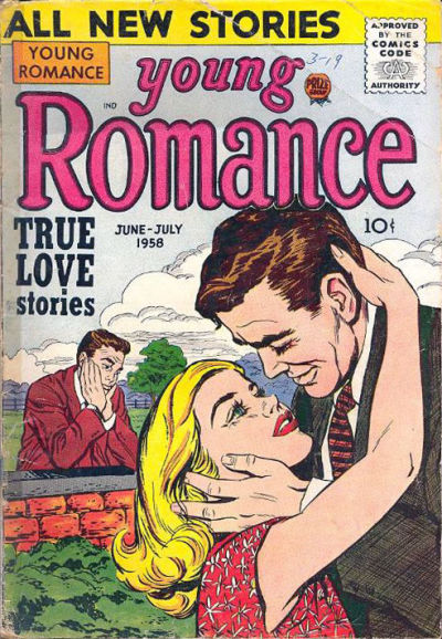 Cover for Young Romance (Prize, 1947 series) #v11#4 [94]
