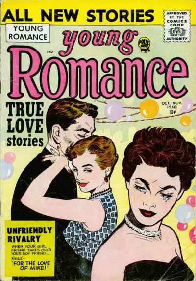 Cover for Young Romance (Prize, 1947 series) #v11#6 [96]