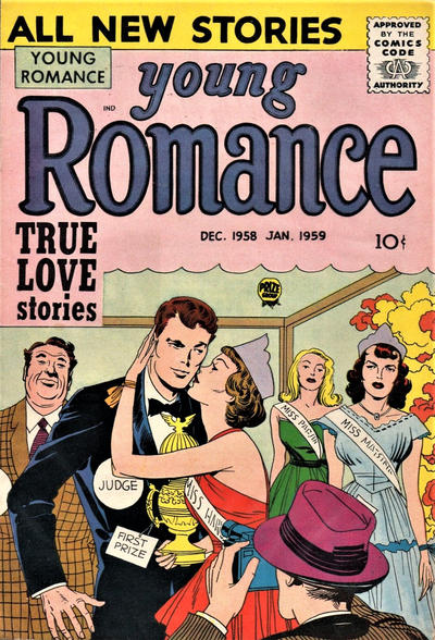 Cover for Young Romance (Prize, 1947 series) #v12#1 [97]