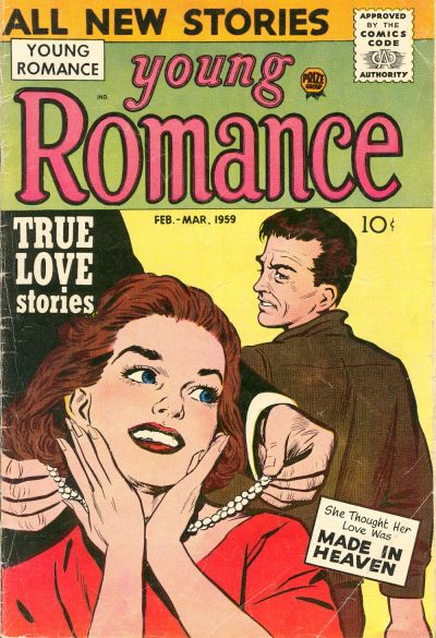 Cover for Young Romance (Prize, 1947 series) #v12#2 [98]
