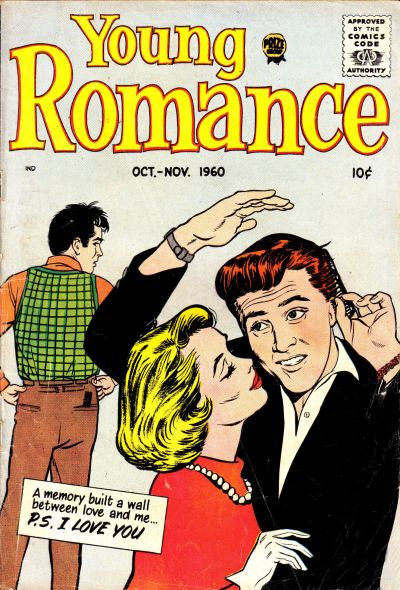 Cover for Young Romance (Prize, 1947 series) #v13#6 [108]