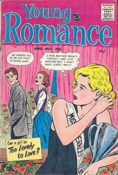 Cover for Young Romance (Prize, 1947 series) #v14#3 [111]