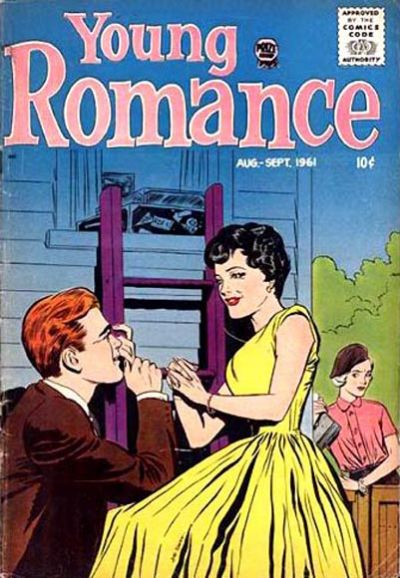 Cover for Young Romance (Prize, 1947 series) #v14#5 [113]