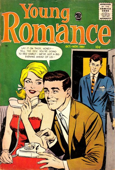 Cover for Young Romance (Prize, 1947 series) #v14#6 [114]