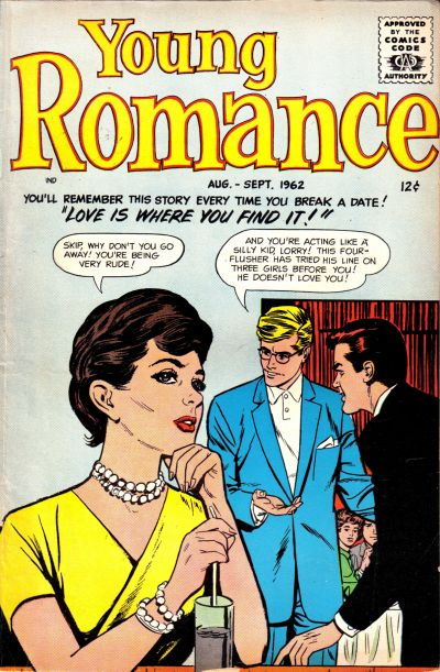 Cover for Young Romance (Prize, 1947 series) #v15#5 [119]