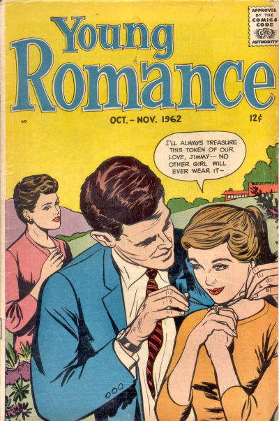 Cover for Young Romance (Prize, 1947 series) #v15#6 [120]
