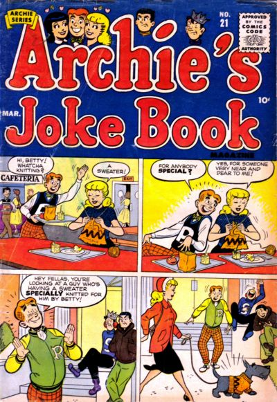 Cover for Archie's Joke Book Magazine (Archie, 1953 series) #21