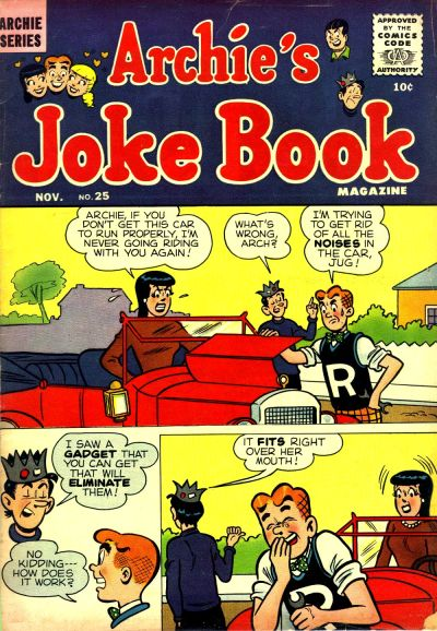 Cover for Archie's Joke Book Magazine (Archie, 1953 series) #25