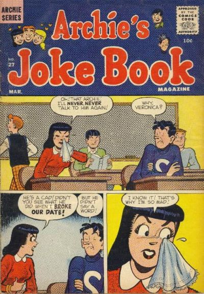 Cover for Archie's Joke Book Magazine (Archie, 1953 series) #27
