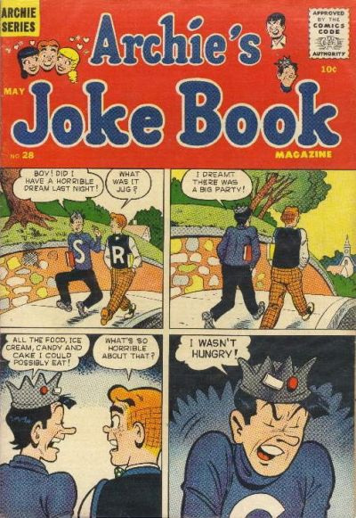 Cover for Archie's Joke Book Magazine (Archie, 1953 series) #28