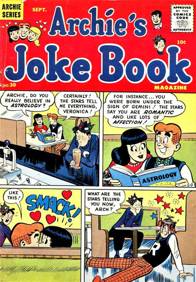 Cover for Archie's Joke Book Magazine (Archie, 1953 series) #30